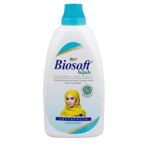 Biosoft Hijab Pewangi + Softener Ocean Fresh 900 ml