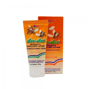 Dee-dee Mosquito Repellent Lotion Orange 50 g