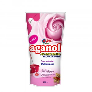 Aganol Antibacterial Floor Cleaner Floral 630 ml