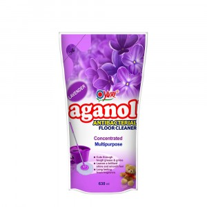 Aganol Antibacterial Floor Cleaner Lavender 630 ml