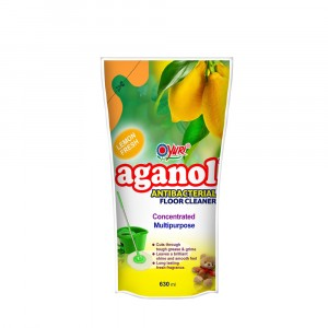Aganol Antibacterial Floor Cleaner Lemon Fresh 630 ml