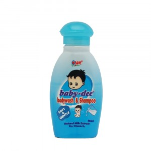 Baby-dee Baby Body Wash & Shampoo Milk 100 ml