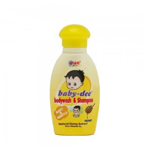 Baby-dee Baby Body Wash & Shampoo Honey 100 ml