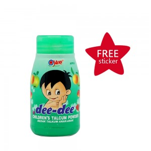 Dee-dee Children Talcum Powder Apple 45 g
