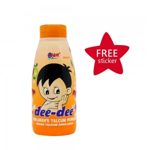 Dee-dee Children Talcum Powder Orange 150 g