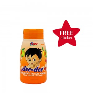 Dee-dee Children Talcum Powder Orange 45 g