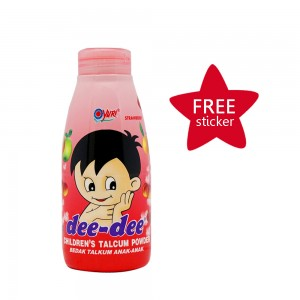 Dee-dee Children Talcum Powder Strawberry 150 g