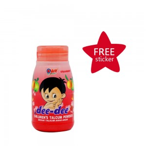 Dee-dee Children Talcum Powder Strawberry 45 g
