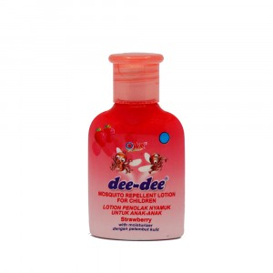 Dee-dee Mosquito Repellent Lotion Strawberry 20 g