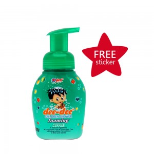 Dee-dee Children Shower Foaming Apple 225 ml