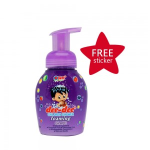 Dee-dee Children Shower Foaming Grape 225 ml