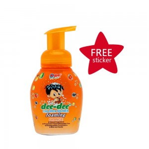 Dee-dee Children Shower Foaming Orange 225 ml