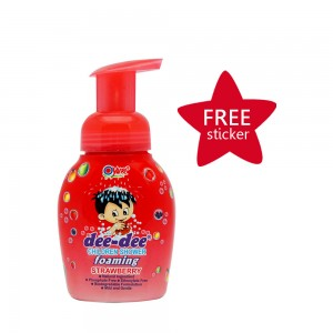 Dee-dee Children Shower Foaming Strawberry 225 ml