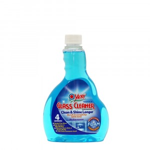 Yuri Glass Cleaner Foam Refill Fresh Blue 500 ml