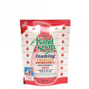 Yuri Hand Soap Foaming Premium Rose 375 ml