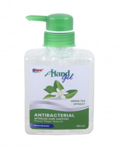 Yuri Antibacterial Hand Gel Green Tea 500 ml