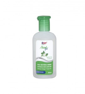 Yuri Hand Gel Kills Bacteria Germ Green Tea 50 ML