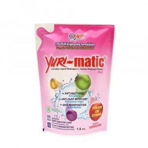 Yuri-matic Laundry Liquid Colour 1.8 Kg