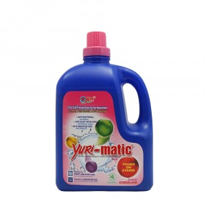 Yuri-matic Laundry Liquid Colour 2.8 Kg