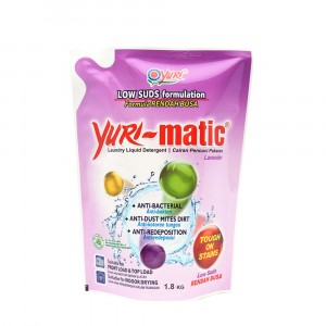 Yuri-matic Laundry Liquid Low Suds 1.8 Kg