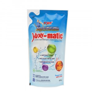 Yuri-matic Laundry Liquid Tough on Stains 630 g